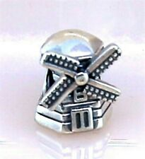 Pandora ALE Windmill Bead Charm in Sterling Silver 925