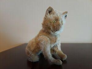 Antique Steiff Kitten with Button