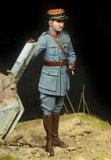 1/35 WW1 resin model kit Figure French Tank Officer (1 TOP qualité Figure)