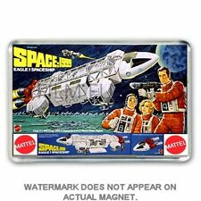 RETRO MATTEL -SPACE 1999 EAGLE TOY -ADVERT ART JUMBO  Fridge / Locker Magnet