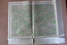 Carte de France 1/25000 Lamastre n° 5-6. Institut Géographique National. 1957