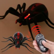 Remote Control Realistic Fake Spider RC Prank Insect Scary Trick Toy