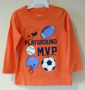 NWT Carter's Playground M.V.P. Shirt / Top Boy's Size 18 Month