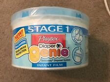 NEW~Playtex Diaper Genie Refill Packs for Twistaway Disposal System~Wide Opening
