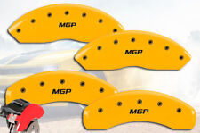 2006-2008 Mercury Mountaineer Front + Rear Yellow MGP Brake Disc Caliper Covers