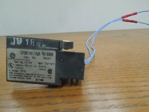 GE SAUV1 120VAC/125VDC Undervoltage Release for RMS Spectra Breakers Used