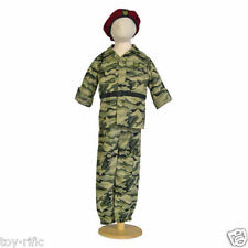 SOLDIER COMBAT FANCY DRESS COSTUME BY TRAVIS DESIGNS - AGE 3 to 5 - NEW!