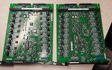 Lot of 2 Mitel DNI Line Card MC330AB (16CCT) Used For Parts Only