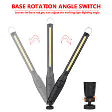 COB LED Rechargeable Work Light USB Hand Torch Inspection Magnetic Lamp Flexible