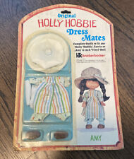 "Original Holly Hobbie Dress Mates For 6"" Amy Doll Knickerbocker New"