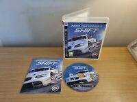 PLAYSTATION 3 - PS3 - NEED FOR SPEED SHIFT - COMPLETE WITH MANUAL - FREE P&P