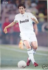 "RICARDO KAKA ""BEHIND THE FOOTBALL"" POSTER - Real Madrid C.F. Footbal / Soccer"