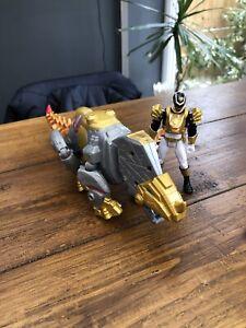 Mighty morphing BlackPower rangers Figure & Dino