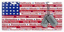 VETERAN THANK YOU USA FLAG Custom License Plate Military Emblem STATES Version