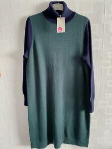 BODEN roll neck Knitted jumper dress size 18. NEW  KO291