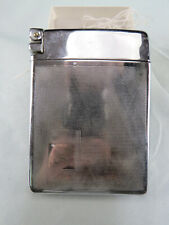 New listing Vintage Royal Case-Lite Silver Tone Cigarette Case & Lighter Combo