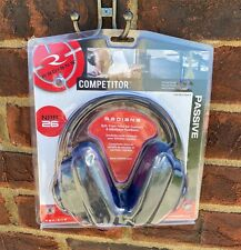 Radians Competitor Multiposition Earcup w/Adjustable Headband Nrr26 Blk Cpo100Cs