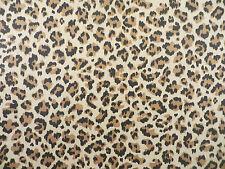 5th Avenue Designs leopard print decorator fabric on 100% cotton twill weave