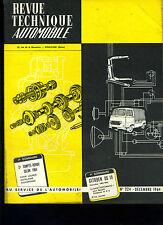 (C15) REVUE TECHNIQUE AUTOMOBILE CITROEN DS 19 / Boîte AUTOMATIC R8 DAUPHINE
