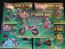 Thunder Bike Mighty Morphin Power Rangers Set of 5 1994 Bandai MISB