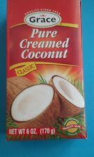 Creamed Coconut Pure 6oz.~ jamaica~jamaican No Preservative (Lot of 3) Grace