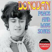 Donovan : Peace and Love Songs [us Import] CD (2003)