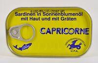 (1,74€/100g) Sardinen mit Haut mit Gräten in Sonnenblumenöl 125 g Capricorne