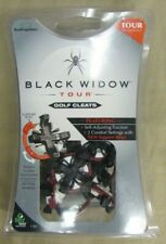 New Soft Spikes Black Widow Tour Golf Cleats New Pack of 16 Black