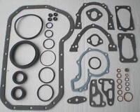 FOR VW GOLF MK2 MK3 JETTA PASSAT 1.6 1.8 8V GTi 83-95 BOTTOM END SUMP GASKET SET