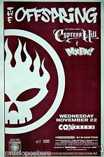 THE OFFSPRING/CYPRESS HILL/MXPX 2000 SAN DIEGO CONCERT TOUR POSTER - Punk Music