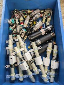 Job Lot Aviation BAe Aircraft Assorted Components Hydraulic Motor Upcycle DIY