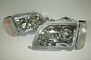 Xenon Headlight Pair For MERCEDES R129 W129 1298209061 1298208961