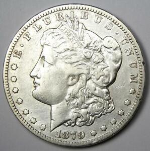 1879-CC Morgan Silver Dollar $1 - Choice VF / XF Detail - Rare Carson City Coin!