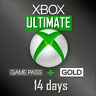 Xbox Game Pass Ultimate - Game Pass + Live Gold - 14 Days - Instant Dispatch