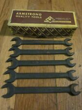 """Armstrong USA Double End Flare Nut Wrench 3//8/"""" x 7//16/"""" Part # 28-130 BNO20 U-82"""
