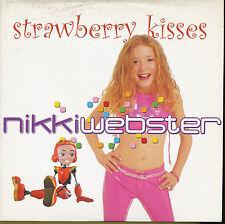 NIKKI WEBSTER CD SINGLE EU STRAWBERRY KISSES(KIDS GIRL)