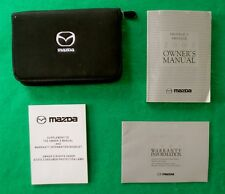 2003 03 Mazda Protege Owners Manual, near New, R44