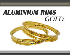 [VA] HONDA CR60 1983-1985 ALUMINIUM (GOLD) WHEEL RIM - FRONT-32H + REAR-32H