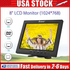"EYOYO S801H 8"" IPS LCD Monitor 1024*768 VGA Video Audio HDMI Input CCTV,DVD,PC"