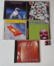 Lot of 5 90s Alternative Rock CD's Bush Lit Red Hot Chili Peppers Faith No More