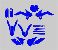 KTM SX 85 2013-2017 Graphics Template vector EPS