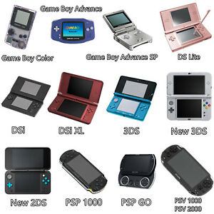 Handheld console protective Case Cover Shell For Gameboy DSi DS Lite 2DS 3DS PSP