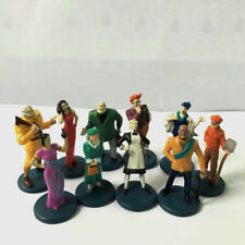 10x Suspects Pieces Tokens Movers Characters Figures Kids Toys Clue Game M779