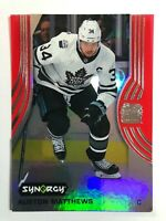 2019-20 Synergy Auston Matthews Red Bounty
