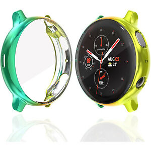 40mm 44mm Colorful Watch Cover for Samsung Galaxy Watch Active 2 Protective Case
