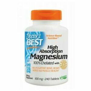 High Absorption Magnesium 240 Tabs 100 mg