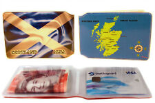Scotland Scottish Flag Bus Pass Credit Travel Rail Slim Wallet for Oyster Card