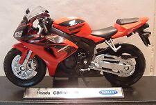 1:18 Honda Fireblade CBR1000R CBR 1000 in (approx. 2540.00 cm) Rojo Excelente Modelo! detalle excelente