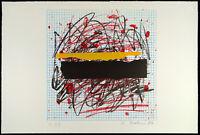 DDR-Kunst, 1989. Kombinationsdruck Bernd HAHN (1954-2011 D), handsigniert, 1/23