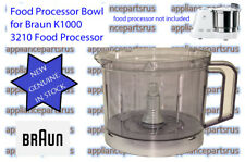 Braun 3210 Food Processor Bowl Part BR63210652 3210652 NEW - GENUINE - IN STOCK